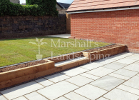 Huddersfield Garden Landscaping Project 47 - Photo 1